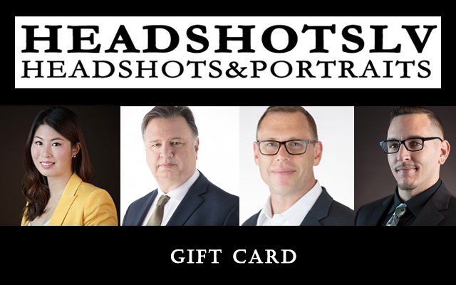 Headshots Las Vegas Gift Card